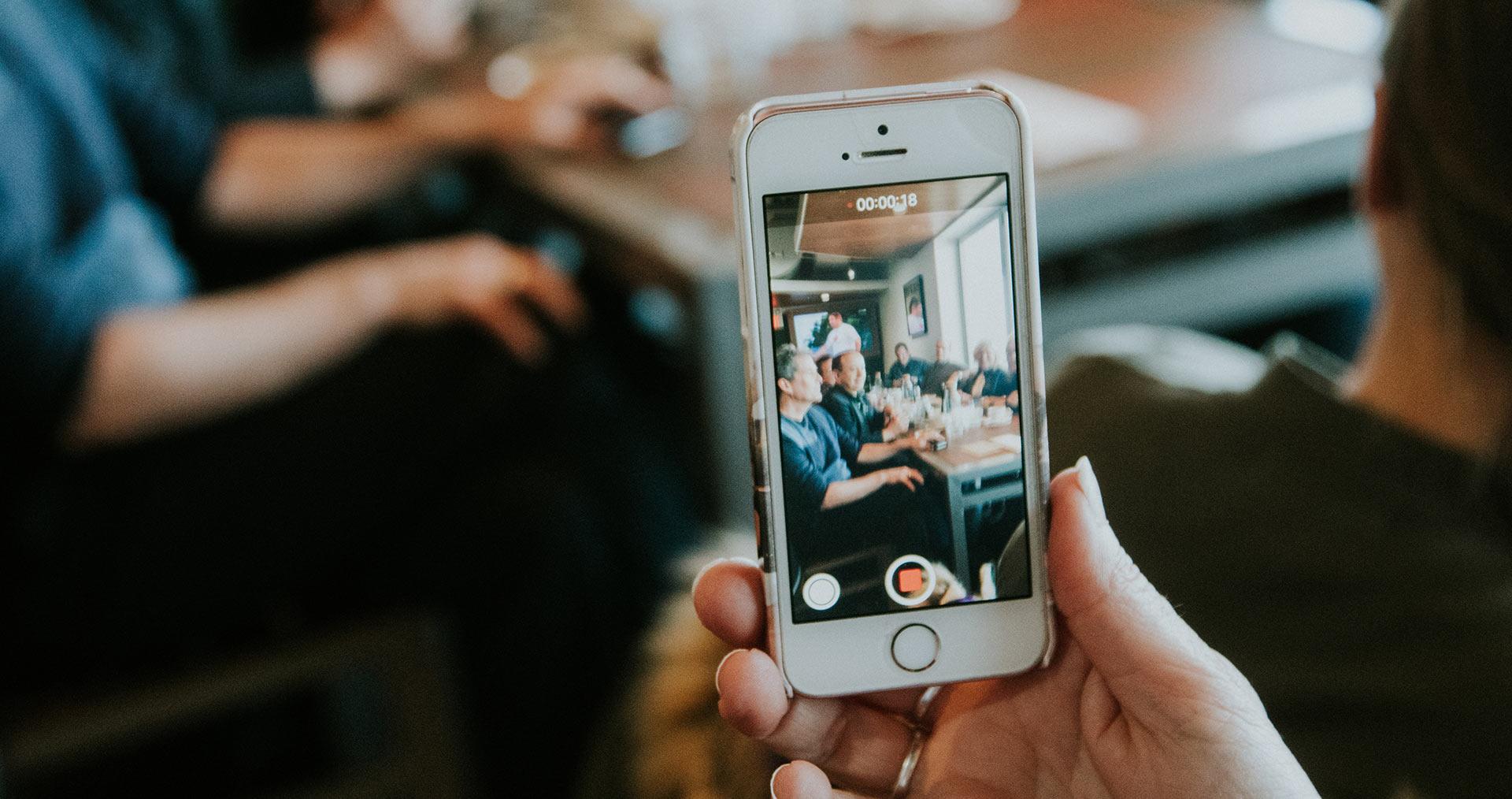 mobile video filming - nexd blog post